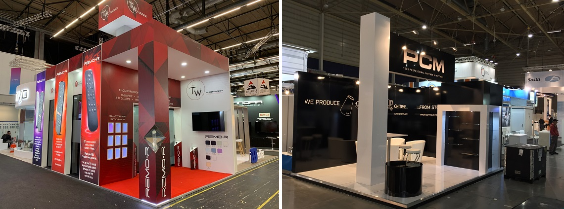 Stand construction Amsterdam 2